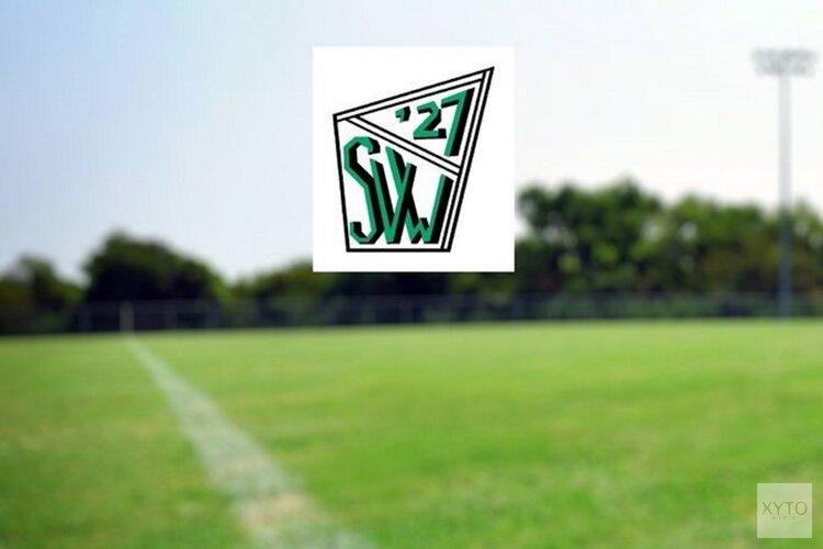 Slecht weekend voor SVW '27
