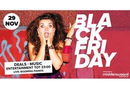 Black Friday in Winkelcentrum Middenwaard