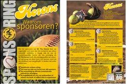 Instuif bij Honk- en Softbal vereniging De Herons