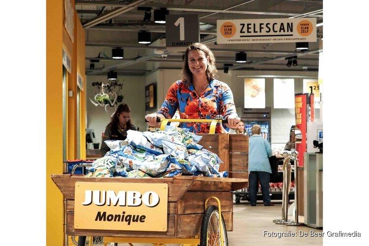 Jumbo Monique viert 1-jarig bestaan op grootse wijze