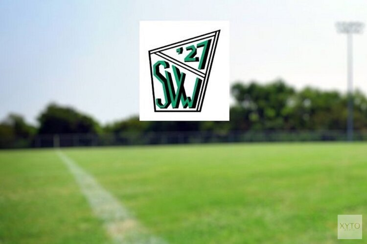 Zevenklapper voor zaterdagvoetballers SVW '27
