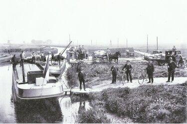 Historische verbindingen tussen  Langedijk en Heerhugowaard