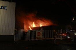 Zeer grote brand bij Beverkoog Alkmaar