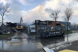 """Alkmaarse bedrijven volledig verwoest door brand: """"Veertien jaar levenswerk"""""""