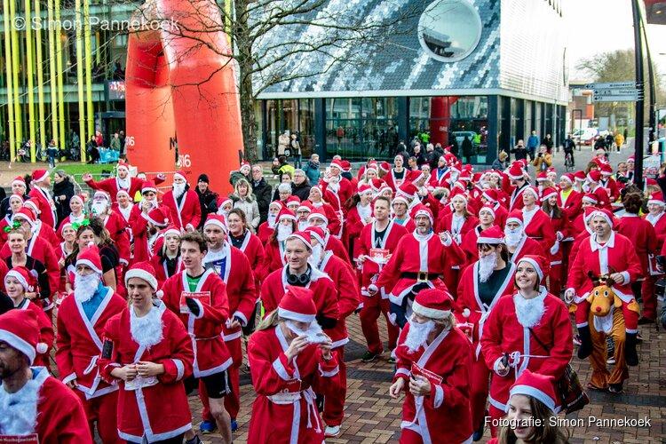 Geslaagde vijfde Santa Run in Heerhugowaard!