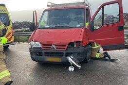 Man raakt lichtgewond bij eenzijdig verkeersongeluk in Heerhugowaard