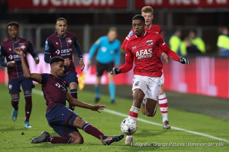 AZ laat zich opnieuw verrassen door Willem II