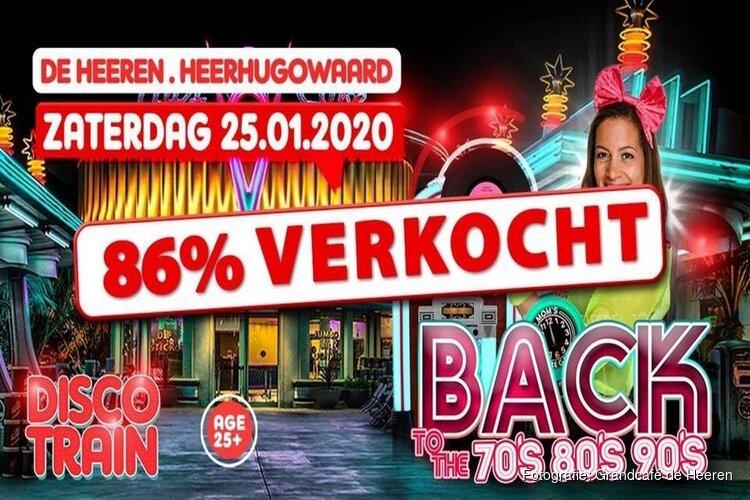 Disco Train bij Grandcafé De Heeren in Heerhugowaard