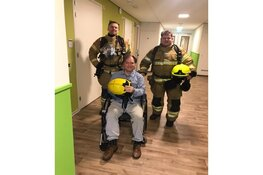 Pluim voor evacuatie bij Pieter Raat