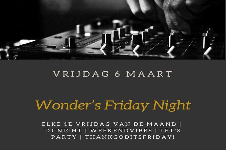 Wonder's Friday Night