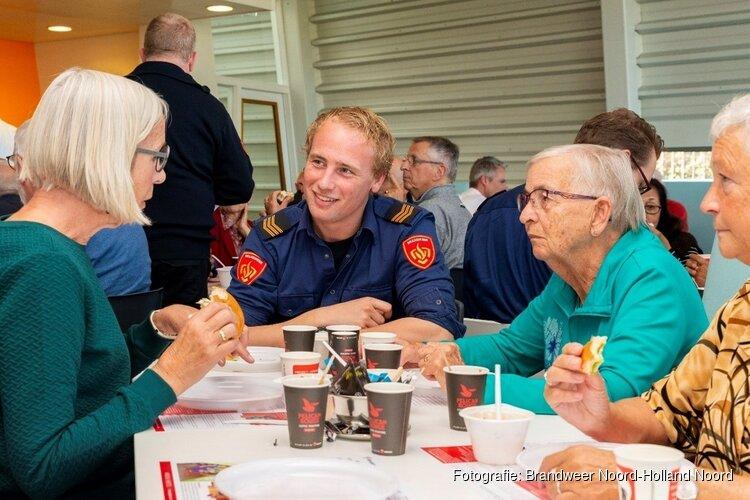 """Komende vrijdag """"Broodje Brandweer"""", 65-plussers uitgenodigd voor lunch"""