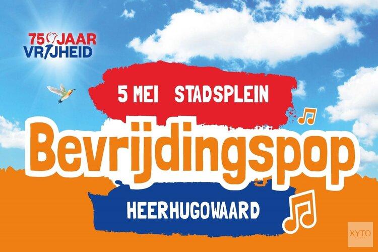 Nederland viert 75 jaar bevrijding: Bevrijdingspop op Stadsplein