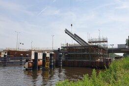 Laatste reeks werkzaamheden aan Leeghwaterbrug (N242) Alkmaar