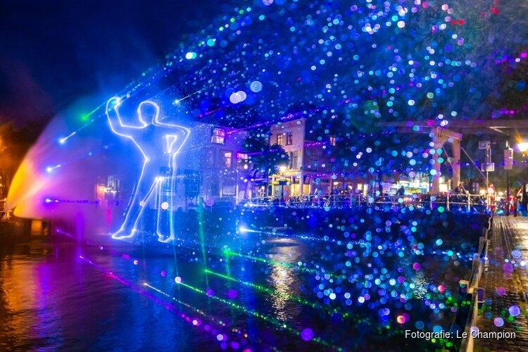 Alkmaar City Run by night vult binnenstad weer met talloze lichtobjecten