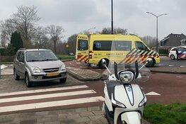 Scooterrijder aangereden op rotonde in Heerhugowaard