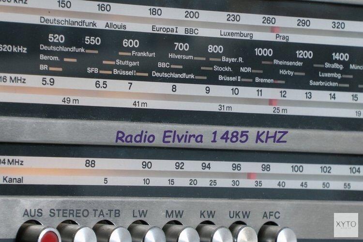 Speciaal Paasprogramma buurtradio Elvira 1485 KHZ, 202 meter in de middengolf