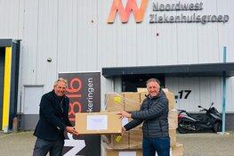 Nh1816 Verzekeringen doneert 12.000 mondkapjes aan NWZ Alkmaar