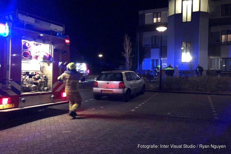 Brandstichting bij flatwoning aan Schelde