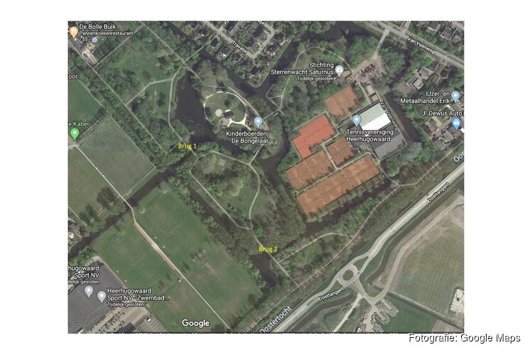 Bruggen Rosariumpark worden vervangen