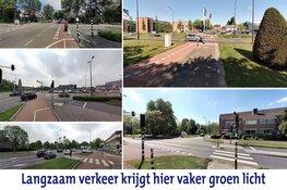 Prioriteit voor voetganger en fietser bij Heerhugowaardse stoplichten