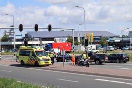 Kop-staartbotsing op de Westerweg