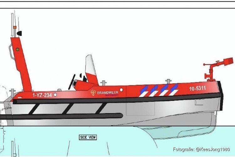 Nieuwe brandweerboot voor Veiligheidsregio NHN, standplaats Zuid-Scharwoude