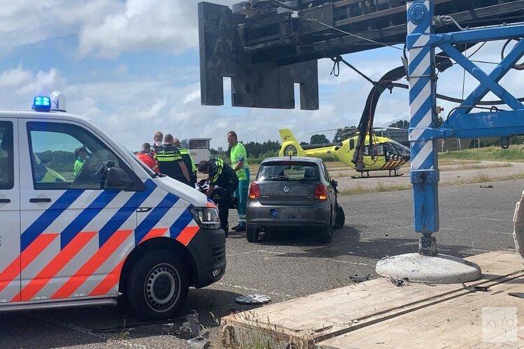 Vrouw overleden na eenzijdig ongeval