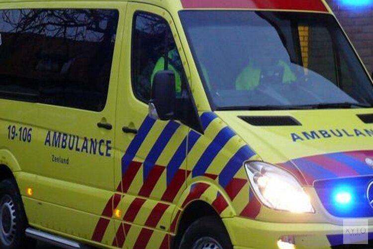 Gewonde bij eenzijdig ongeval Zuidtangent