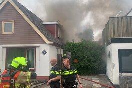 Brand in Noord-Scharwoude