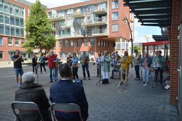 Kees Pater (90) verrast door eigen ensemble