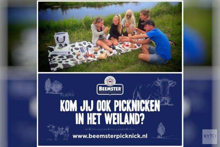 Beemster kaas introduceert picknicken bij de boeren