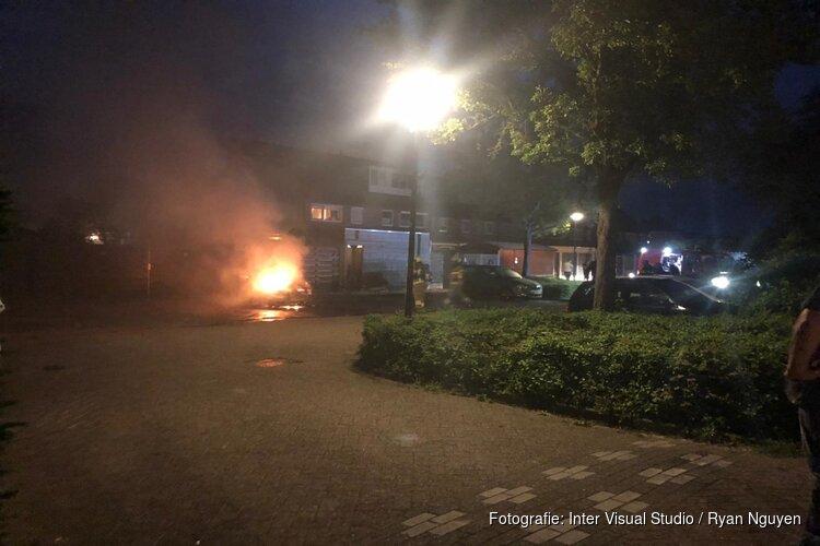 Auto door brand verwoest in Heerhugowaard