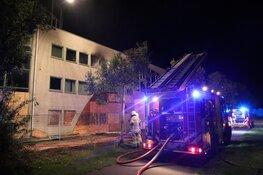 Brand in slooppand Heerhugowaard