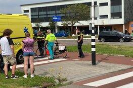 Fietsster aangereden op kruising Stationsplein / Zuidtangent