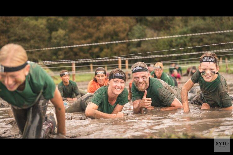 35 Baggervette obstakels overwinnen tijdens de Major Family Obstacle Run op 13 september