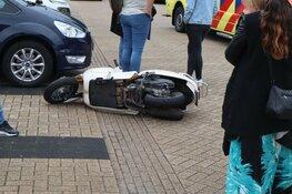 Bromfietsbestuurster gewond in Heerhugowaard