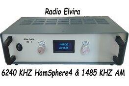 Aanpassing programmering Radio Elvira 1485 Kilohertz