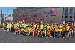 TTO-leerlingen Han Fortmann doen mee aan World Clean Up Day