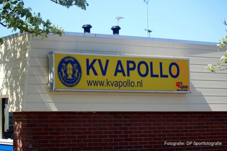Korfballers Apollo 1 verliezen nipt