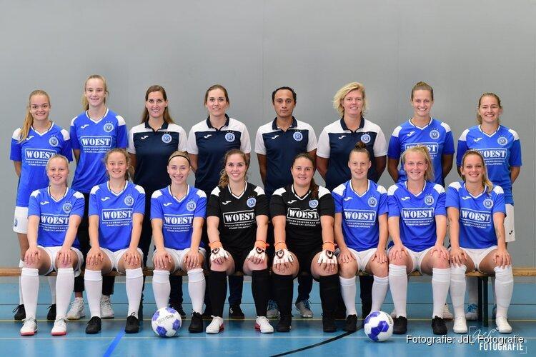 Vrouwen FC Marlène niet tevreden met punt in topper
