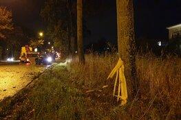 Automobilist crasht in Heerhugowaard en wordt aangehouden