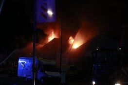 Grote brand bij bedrijf aan Stevinstraat Heerhugowaard