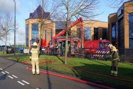 Brand bij aannemersbedrijf in Heerhugowaard