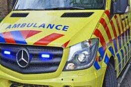 Krantenbezorgster gewond na ongeval Rustenburgerweg