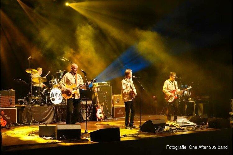 One After 909 (dé Beatles tribute band) bij de Schelvis