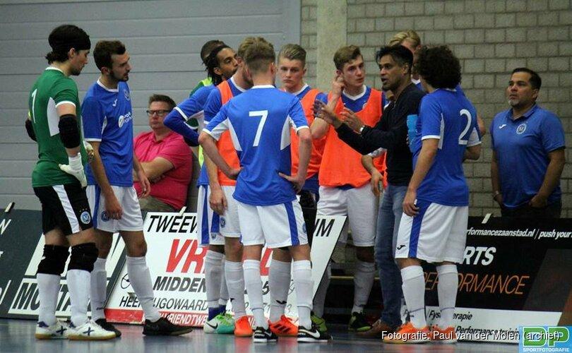 Kwartfinale eindstation FC Marlène