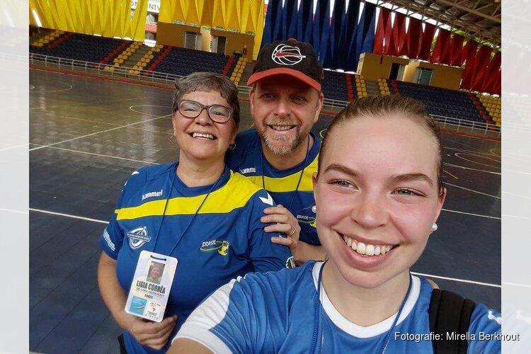 Mirella Berkhout keert met goed gevoel terug uit Brazilië