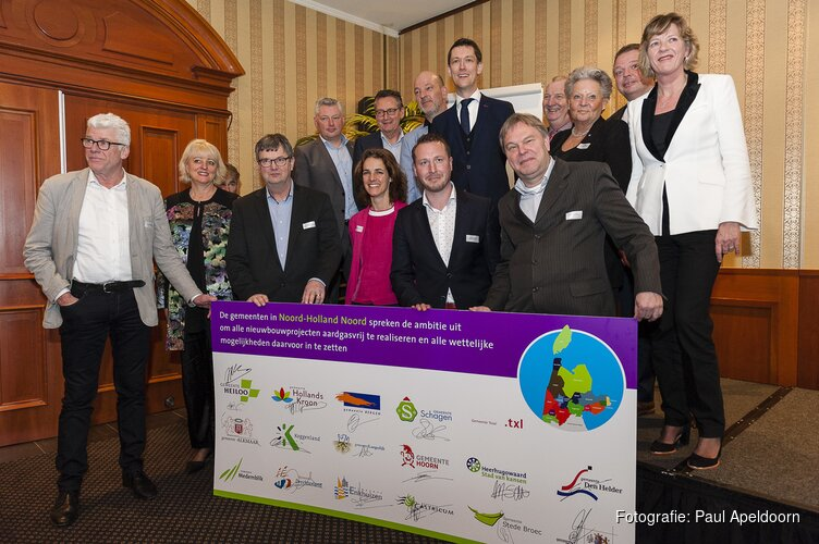 Noord-Holland Noord gaat voor aardgasvrije nieuwbouw