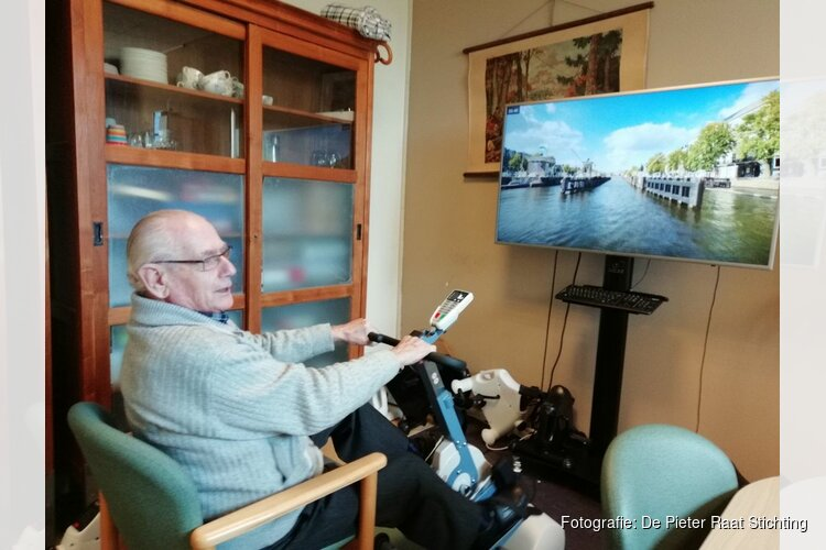 Wereldwijd fietsen vanuit de woonkamer