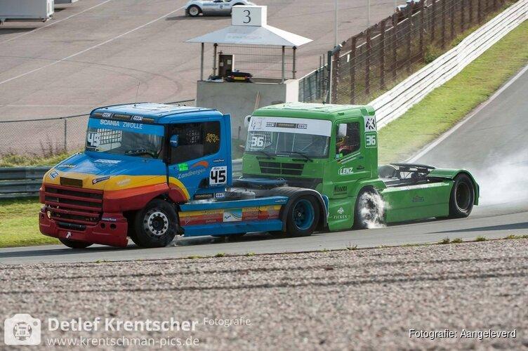 Kampioenschap Dutch Truck Racing van start op Zandvoort